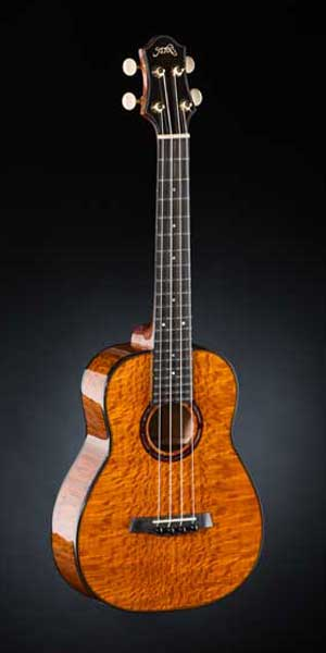 Tenor-Ukulele with Nylonstrings