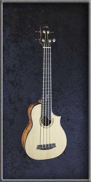 Bass Ukulele -Koa
