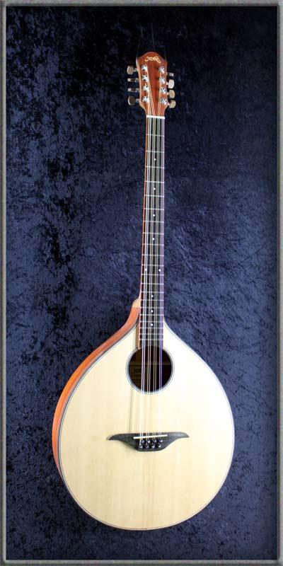 Irish Bouzouki – Padouk - Munich Guitar Company - Reparaturen | Verkauf | Neubau